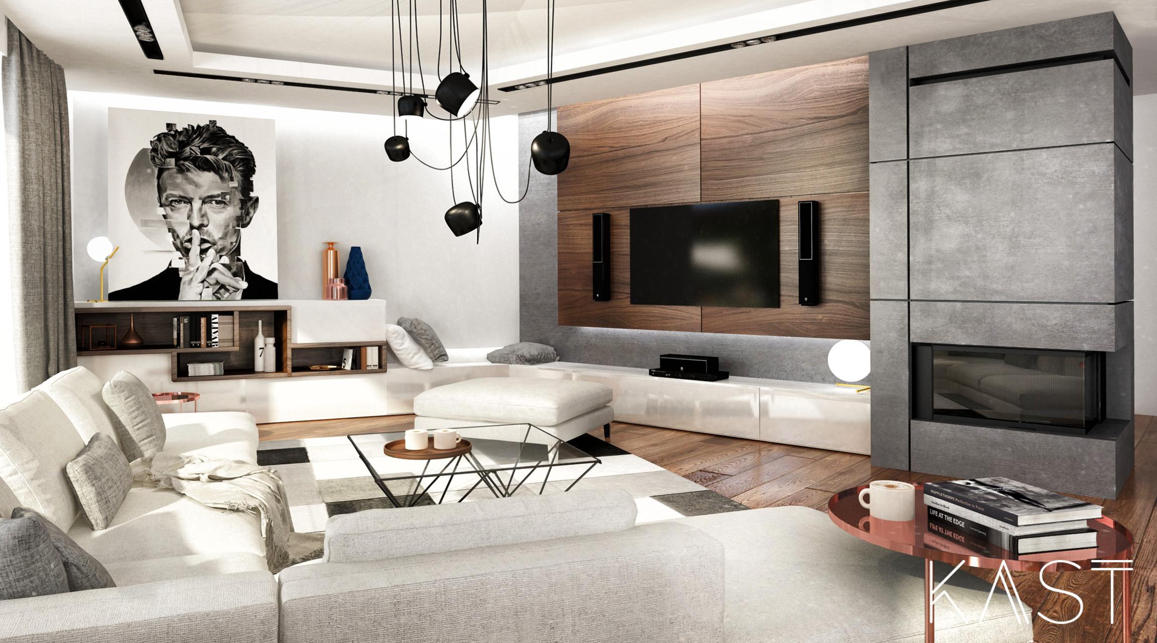 Maison bois béton à meudon kast design